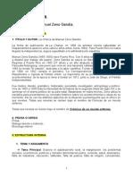 Ficha de Lectura. La Charca