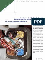Reparación de Cables y Conectores en Instalaciones Eléctricas