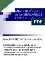 Análisis Técnico de Los Mercardos Financieros