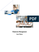 Classroom Management Unit