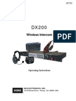 DX200 Operating Manual Rohs