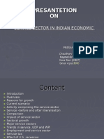 Service Sector in Indian Economy