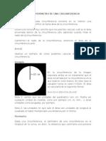 Área y Perímetro de Una Circunferencia