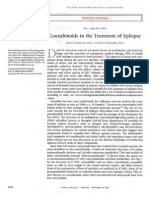 """Cannabinoids in the Treatment of Epilepsy"" - New England Journal of Medicine"
