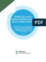 Mémoire Guide Boues 2014
