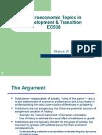 2 Development Macro Lectures 1
