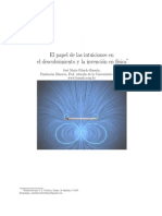 El Papel de Las Intuiciones en El Descubrimiento Físico, Filardo