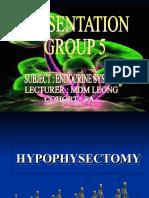 Hypophysectomy