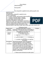 Proiect Didactic Clasa 10