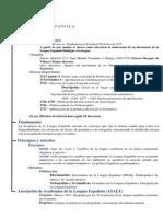 Academias e Instituciones de La Lengua Española