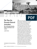 The Time the Peasants Entered Jerusalem