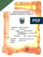 183844988 Levantamiento Topografico Por El Metodo de La Poligonal de Apoyo Cerrada