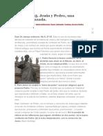 Jesús y Pedro, Una Historia Cruzada.