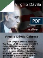 Presentacion de Virgilio Davila