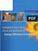 Intelligent Energy e-library of tools and guidebooks on Energy Efficiency in Industry