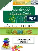 Slide - Gêneros textuais.ppt