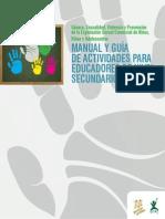 Manual Y Guia de Actividades Para Educadores de Nivel Secundario