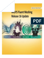 Ansys Fluent Meshing Release 16 Update