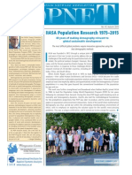 IIASA Population Research 1975–2015