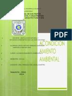 Acondicionamiento Ambiental II