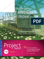 Energy-efficient transport - Green mobility on the move