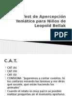 Test de Apercepcion Tematica Para Ninos de Leopold Bellak