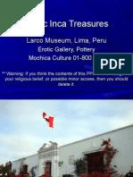 Erotic Inca Treasures
