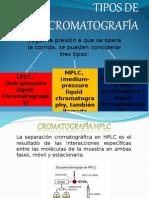 Tipos de Cromatografía (3)