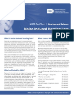 noice induced hearing loss - THT