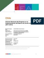 Chile - Informe Nacional del Progreso en la Implementación del Marco de Acción de Hyogo (2011-2013)