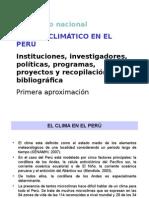 Cambio Climatico en El Perú