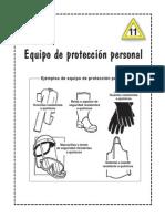 EPP Para Riesgo Quimico