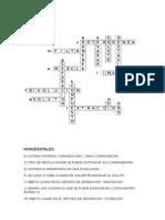 CRUSIGRAMA DE MEZCLAS Y COMPUESTOS