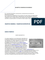 Informe Nº 4 Campo Magnético Generado en Bobinas