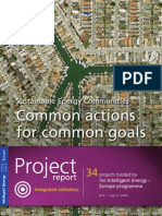Sustainable Energy Communities - Common actions for common goals