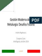 12 Gestion Moderna de La Metalurgia