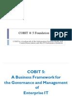 COBIT 5 Foundation Workshop Courseware