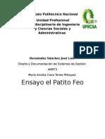 Patito Feo Ensayo