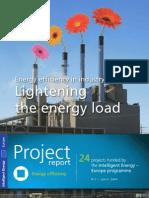 Energy efficiency in industry - Lightening the energy load
