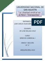 LA LIBERTAD SINDICAL EN EL PERU.docx