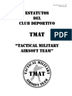 Estatutos Club TMAT