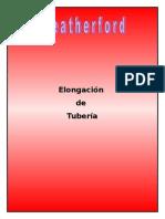 Elongación de Tuberías