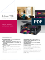 IBJSC.com | I-WEB.com.vn - Epson Artisan 800 Wireless Photo All-in-One Printer - User's Guide