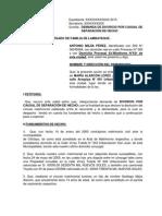 Demanda de Divorcio Por Causal de Separación de Hecho - Acta de Inadmisibilidad Escrito de Subsanación Por Omisión