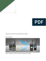 Migração de Sistema de Radio Analógico Para Digital