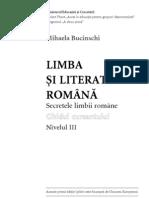 Mihaela Bucinschi - Limba si literatura romana - secretele limbii romane