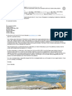 March 5 2015 Preliminary Determination of Acroporid Coral Dch Across Puerta de Tierra Coral Reefs Email Response From Lisamarie Carrubba Noaa