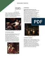 Baroque & Renaissance Painters