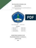 Laporan Praktikum Biokimia Gizi Kolestrol_3003