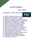 Al Adab Al Mufrad Al Bukhari